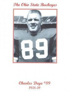4 Chuck Deyo_Buckeye football 1958-59
