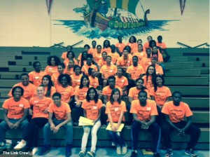The Link Crew provides leadership to freshmen students during their first year at NHS.